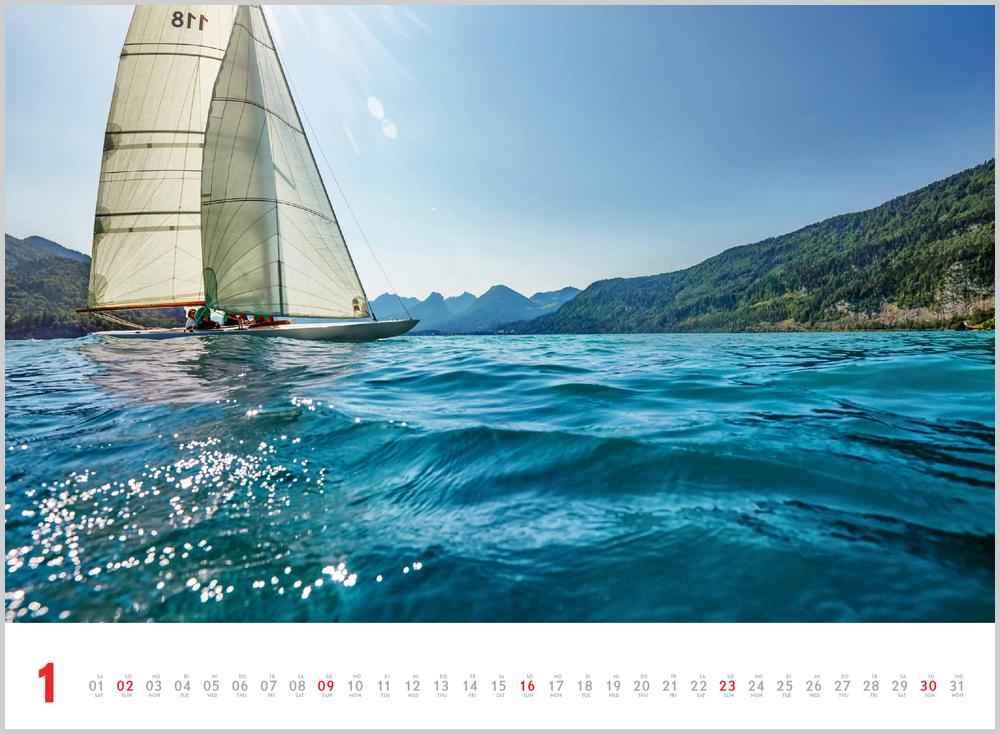 Monatsbild für Januar des Schönheit des Segelns 2022