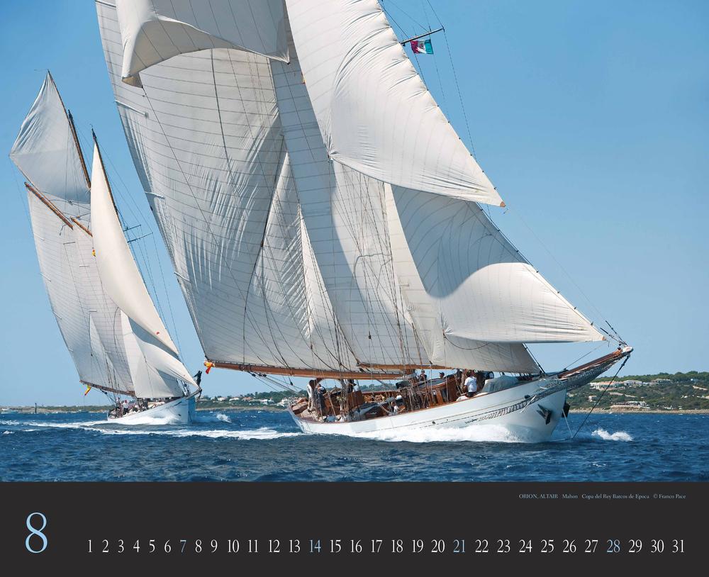 Augustvorschau für den achten Monat im Franco Pace Kalender für 2022