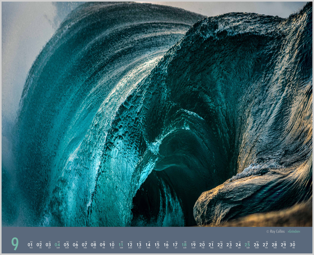 Septemberbild des Waves Kalender für 2022