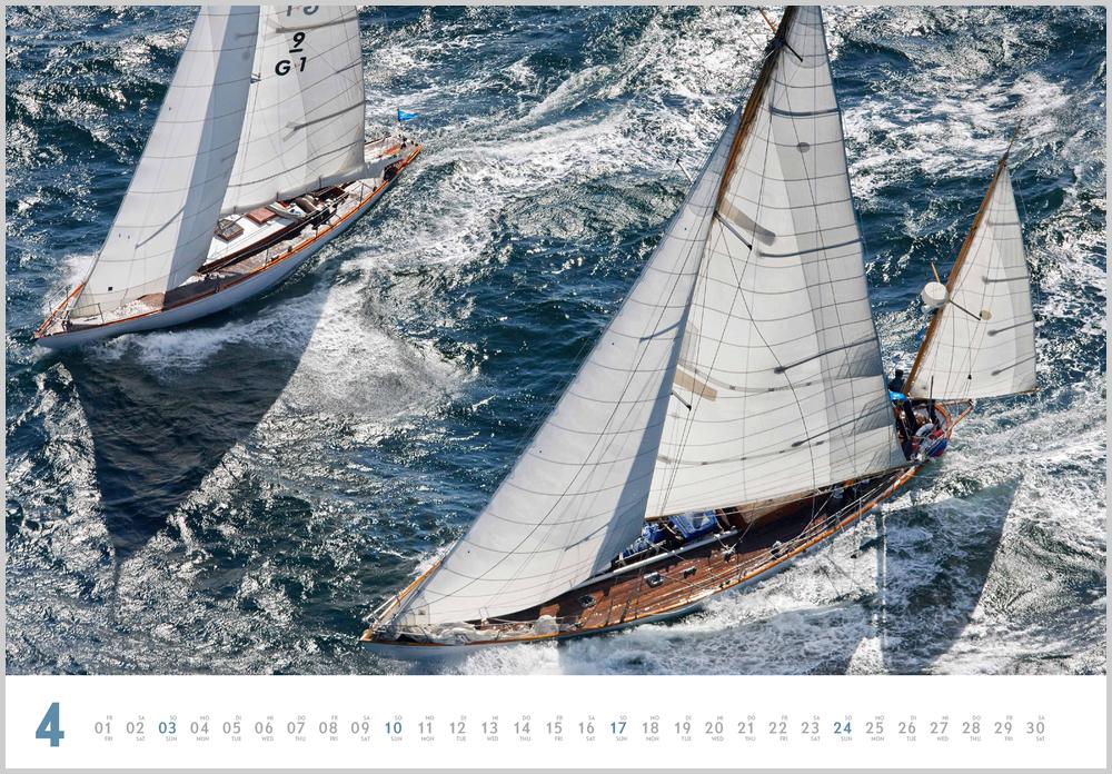 Monatsbild für April des Yacht Classic 2022