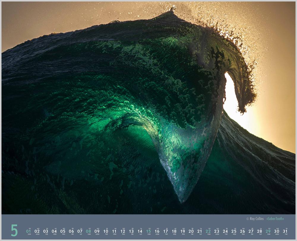 Vorschau für den fünften Monat Mai im Waves Kalender für 2022