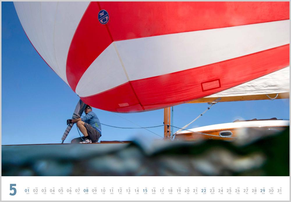 Vorschau für den fünften Monat Mai im Yacht Classic Kalender für 2022