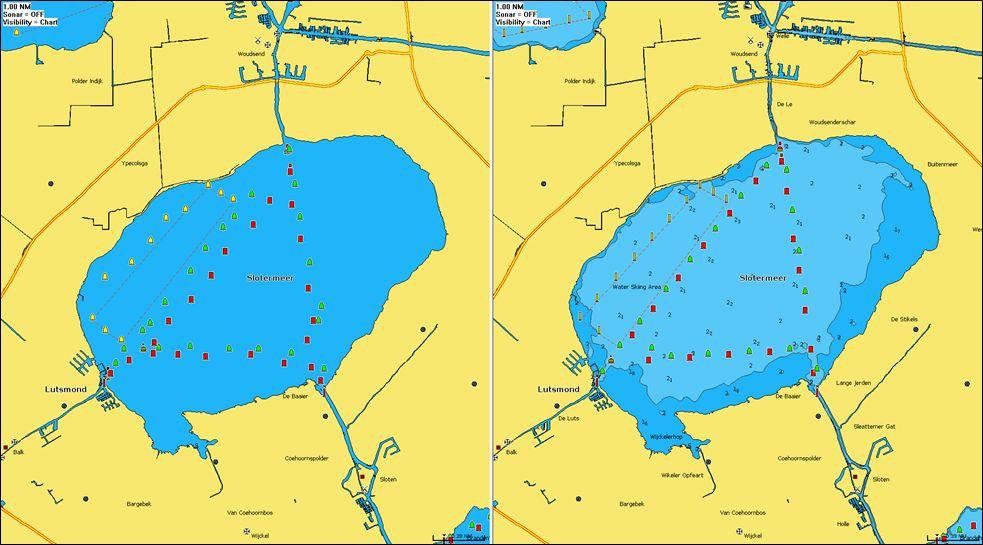 2021 Seekartenupdate für das Slootermeer mit Navionics