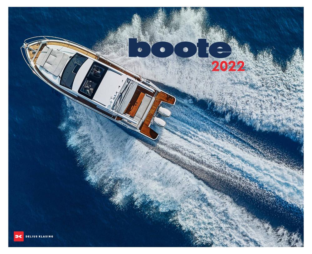 Titelbild des boote 2022 Kalender