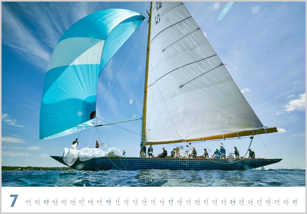 Monatsbild für Juli des Yacht Classic 2022